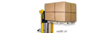 For Outrigger or Straddle Pallet Truck