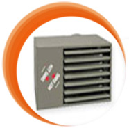 Unit gas heaters