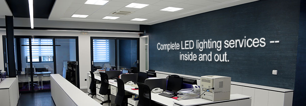 Global Industrial Lighting Services - Complete lighting services -- inside and out.